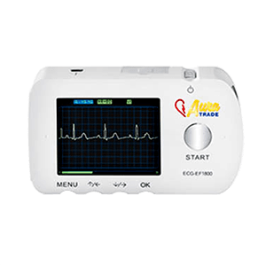 Prenosný vreckový EKG