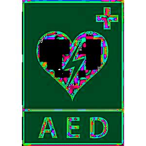 AED defibrilátor logo